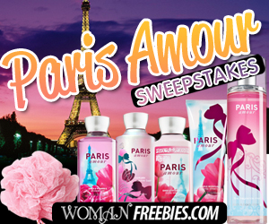WomanFreebies Paris Amour Sweepstakes
