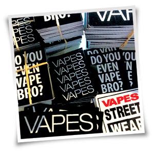 Free Vape StreetWear Sticker
