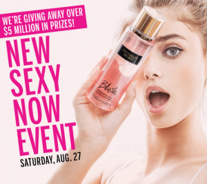 Victoria's Secret Fantasies Instant Win Promotion - In Store