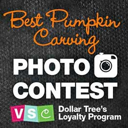 Dollar Tree Best Photo Carving Photo Contest