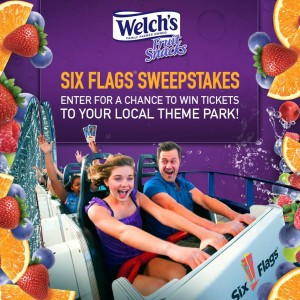 Welch's Six Flags Sweepstakes
