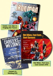 Free Careers In Welding DVD, Magazine, and Comic