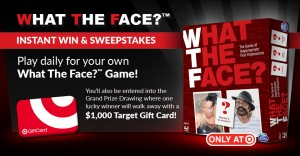 What The Face? Instant Win & Sweepstakes