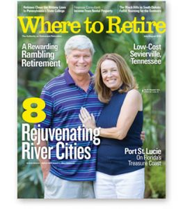 "Free Issue Of ""Where To Retire"" Magazine"