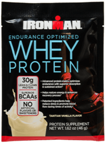 Two Free Samples Of IronMan Whey Protein