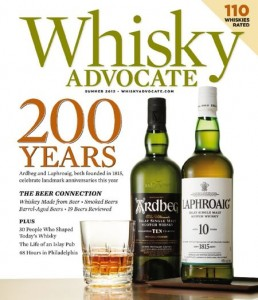 Free One Year Subscription To Whiskey Advocate Magazine (4 Issues)