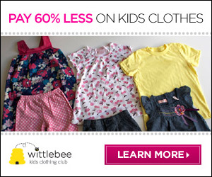 WittleBee: Pay 60% Less For Kids Clothes