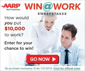 AARP Win@Work Sweepstakes
