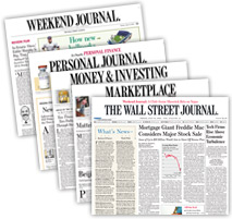 Free Subscription To The Wall Street Journal Newspaper
