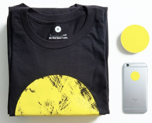 Free YellowCircles Tee Shirt Or Stickers