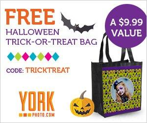 Free Personalized Halloween Trick-or-Treat Bag