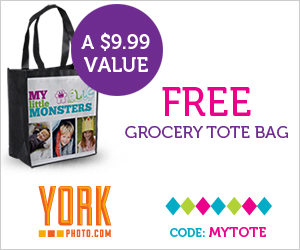 Free Customized Tote Bag From York Photo