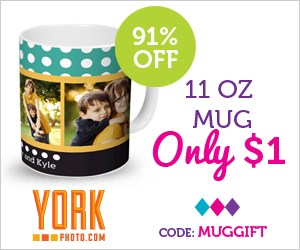 Personalized 11oz. Mug - $1 Shipped