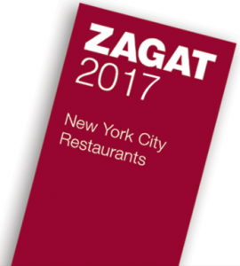 Free 2017 Zagat New York City Restaurant Guide