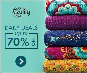 Zulily - Receive Daily Deals Up To 70% Off