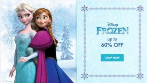 Zulily - Up To 60% Off Frozen Sale + Win A $300 Frozen Prize Pack