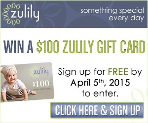 Enter To Win A $100 Zulily Gift Card