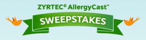 ZYRTEC AllergyCast Sweepstakes